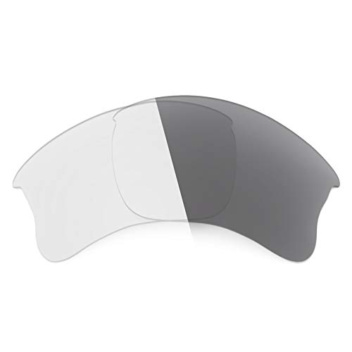 Revant Ersatzlinsen für Oakley Flak Jacket XLJ Elite Adapt Grey Fototrop Asian Fit