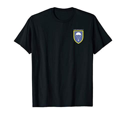 Herren Fallschirmjäger T-Shirt Airborne Parachute LLBrig 27 - Airborne Herren-shirt