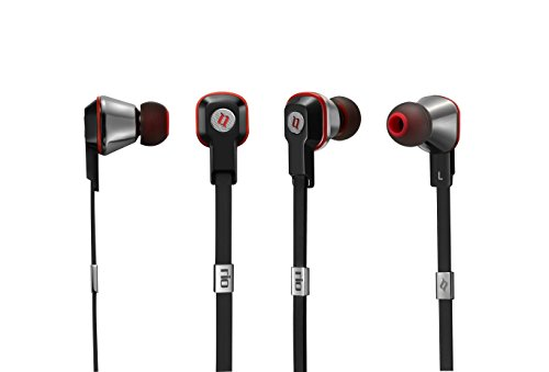 Noontec MF3117(B) Rio Professional In-Ear-Kopfhörer schwarz Rio Mp3