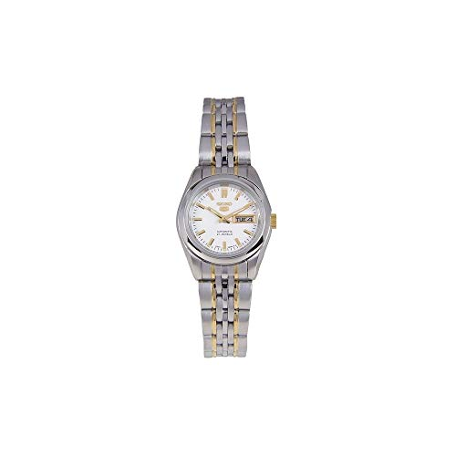 Seiko Damen Analog Automatik Uhr mit Edelstahl Armband SYMA35K1 - 5 Seiko Damen Uhr Automatik