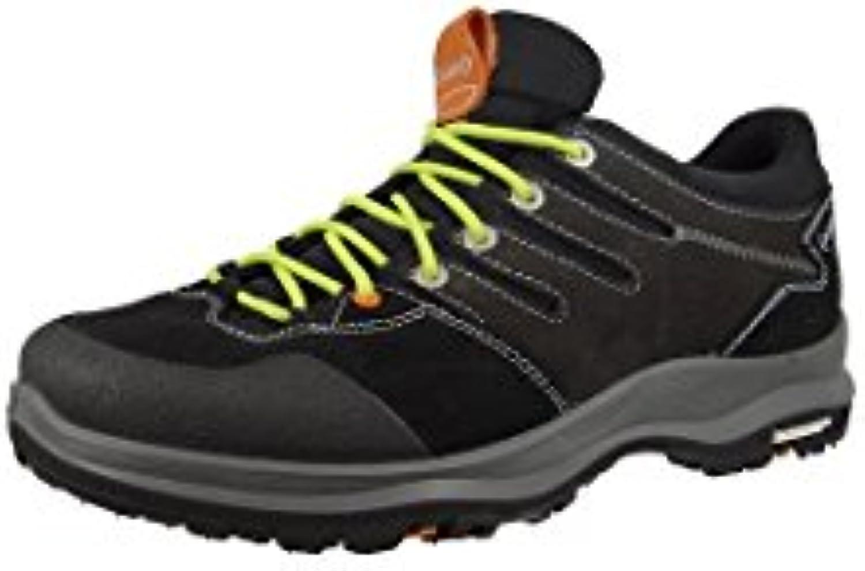 AKU - Zapatillas de senderismo de Piel para hombre negro negro