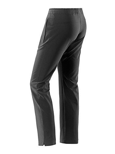Joy - Damen Sport und Freizeit Hose mit Stretch-Einsatz, Nita (852) Black (00700)