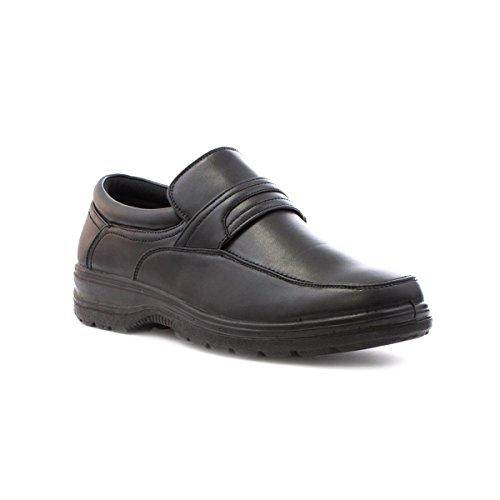 hobos-mens-black-slip-on-casual-shoe-size-9-black