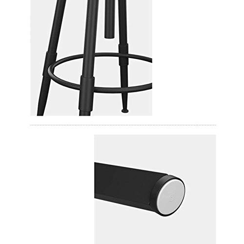 Unbekannt ERT Moderne Möbel Barhocker Kiefernholz Höhenverstellbar Swivel Industrial Style,EIN - Moderne Möbel Aus Kiefernholz
