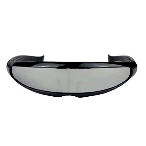LABIUO Unisex-Sonnenbrillen Fischschwanz-Reitsonnenbrille Der Mode Im Freien,Sportbrille - Sonnenbrille Mit UV-Schutz Mountainbike-Brille(B,Freie Größe)
