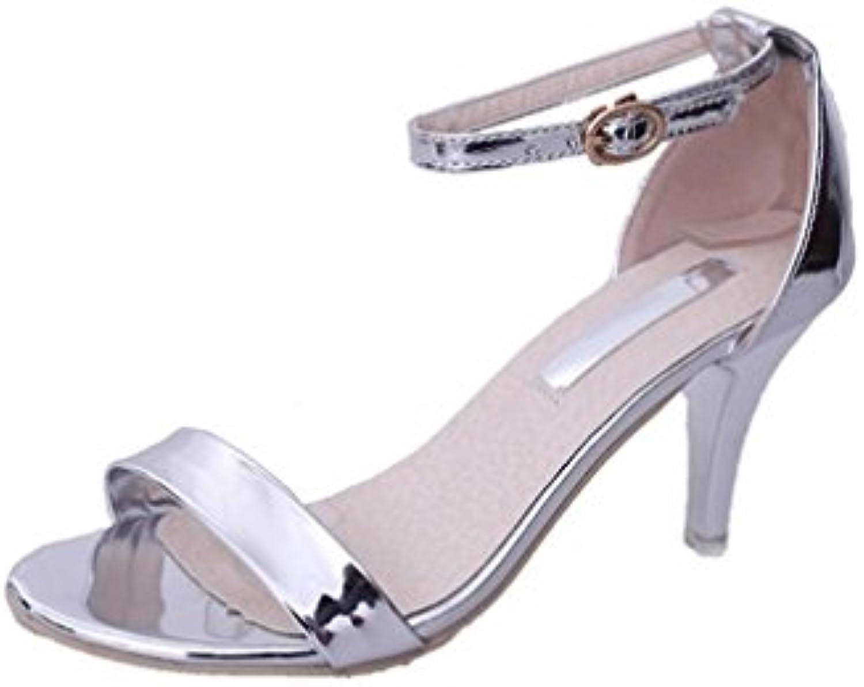 maheegu wo  mesdames block block block talons boucle sexy bout ouvert sandales chaussures pour partie b07fnqcjzk parent db5e16