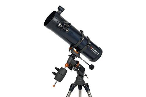 Celestron AstroMaster 130 EQ Motor Drive Telescope (Grey)