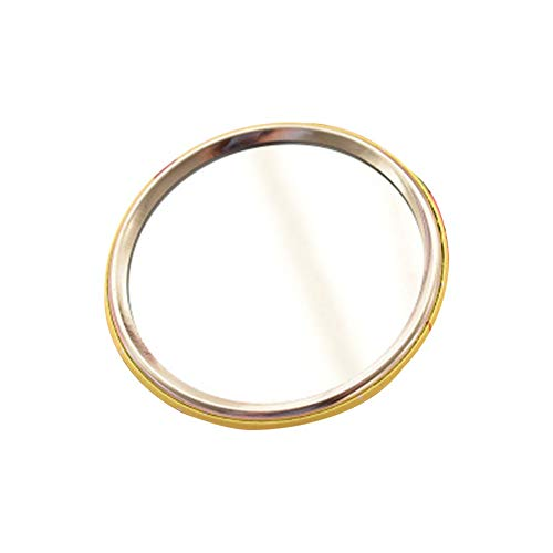 Bulk Runde Make-up Glass Mirror für Geldbörse großes Geschenk 2,5 Zoll Geschenk für Frauen Mädchen ()
