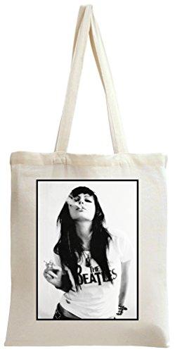 Sexy Beatles Fan Smoking Tote Bag -