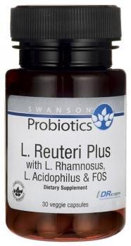 Swanson Probiotics L. Reuteri Plus - 30 Vegetarian DR Capsules by Swanson Health Products