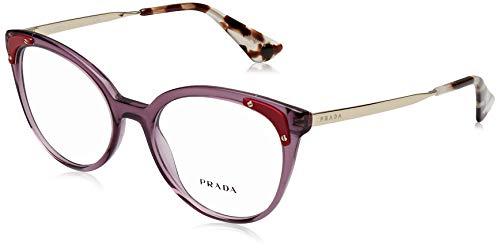 Prada 0PR 12UV Brillengestell für Damen, 0PR 12UV, Braun, 0PR 12UV 53