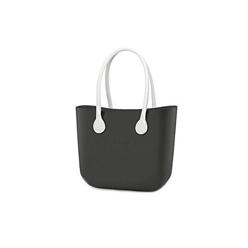 Preisvergleich Produktbild Tasche oder Bag komplett groß Vulcano Griffe ECO LEDER Weiß