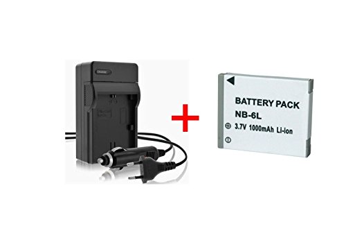 replace-carica-batteria-wh37-nb-6l-nb-6lh-casa-auto-per-canon-digital-ixus-25is-85is-95is-105is-200i