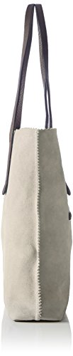Stonefly Damen Shopp Taylor Pr1110 Schultertasche, 7X35X42 cm Taupe/Brown