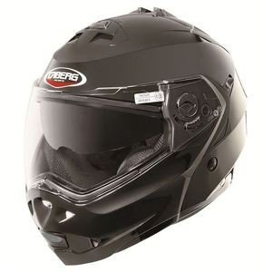 CABERG DUKE, casco modulare, nero-smart, taglia S [Misc.]