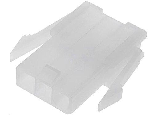 20x N42G-03S Plug wire-wire male PIN3 4.2mm 600V Locking lock -40÷105°C - 600v Wire