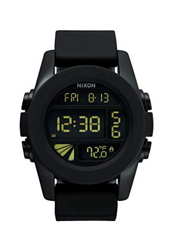 Nixon Herren Digital Quarz Uhr mit Plastik Armband A197000-00