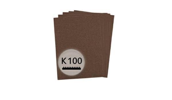 für Holz und Farbe 230x280mm K60 Schleifpapier in 10 Bögen