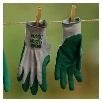 10 X Showa 350r Thorn Master Nitrile Grip Gardening Work Safety Gloves All Sizes Gardening Gloves Garden & Patio