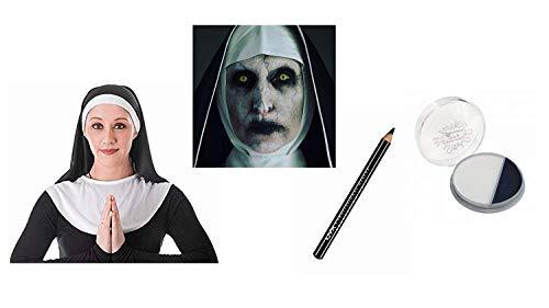 Böse Kostüm Nonne - Seemeinthat Dämonische Nonne Halloween Kostüm Zubehör Teufel Zombie