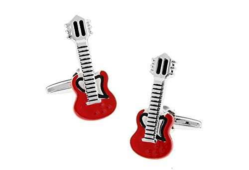 Ashton and Finch Gemelos Guitarra eléctrica roja
