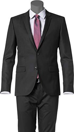 HUGO Herren Sakko Anzugjacke, Größe: 50, Farbe: Schwarz