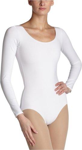 Capezio Women's Long Sleeve Leotard,White,X-Small