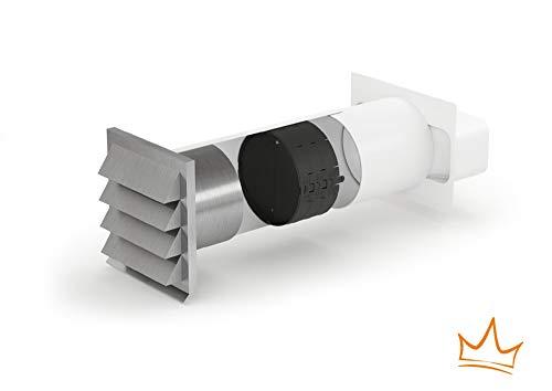 E-Jal 150 Mauerkasten inkl. THERMOBOX Wärmerückhaltesystem/Rechteckanschluss / Compair flow 150 (System Ø 150)
