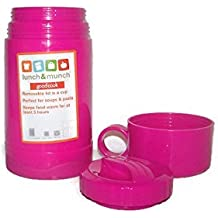 Lunch & Munch Cold and Hot Pink Thermos by Good Cook