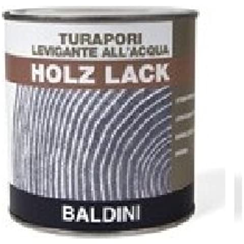 Vernice Turapori per legno trasparente ad acqua inodore Baldini Vernici-0,750 Lt