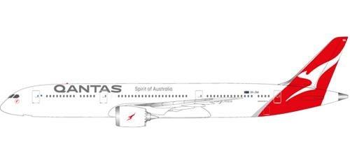 Herpa 611770 Fahrzeug Qantas Boeing 787-9 Dreamliner-VH-ZNA