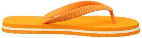 Goganics Bicolour, sandales ouvertes mixte adulte orange (orange 500)