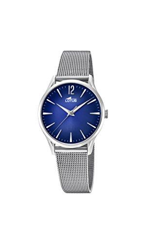 4caff926801c Lotus Watches Reloj Análogo clásico para Mujer de Cuarzo con Correa ...