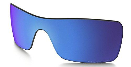 Oakley 101-514-008 Men's Batwolf Polarized Replacement Lenses, Sapphire Iridium Polarized