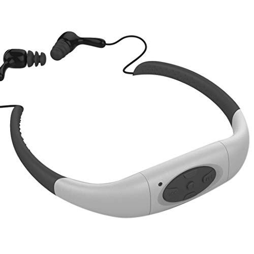 TOOGOO 8GB Wasserdicht Schwimmen Surfen Tauchen Sport Headset MP3 Spieler FM Radio