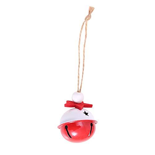 Sammoson 10 pcs christmas ornaments decoration albero di natale hanging small colorful bell - un pacchetto di 10 campane a colori che appendono gli accessori dell'albero di natale