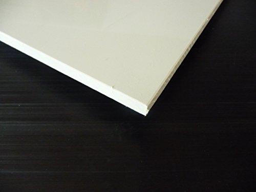 Plaque coupé de PP rigide 1000 x 495 x 10 mm gris Polypropylène alt-intech®