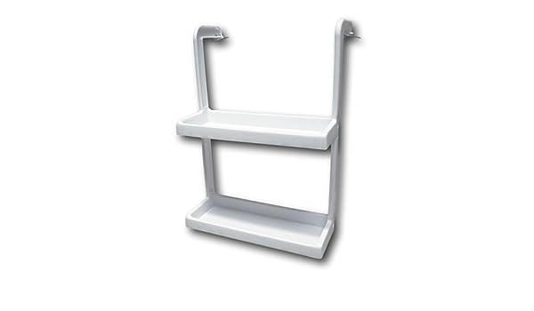 Kühlschrank Hänge Regal : Hängeregal organizer regale ablagen küchenregal badregal weiß