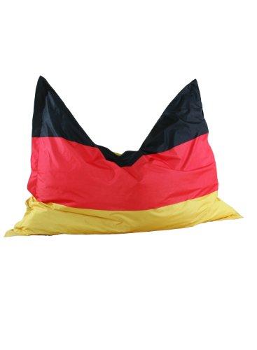"Kinzler K-11290/395 Riesensitzsack Flagge ""Deutschland"" 140x180 cm, bunt"