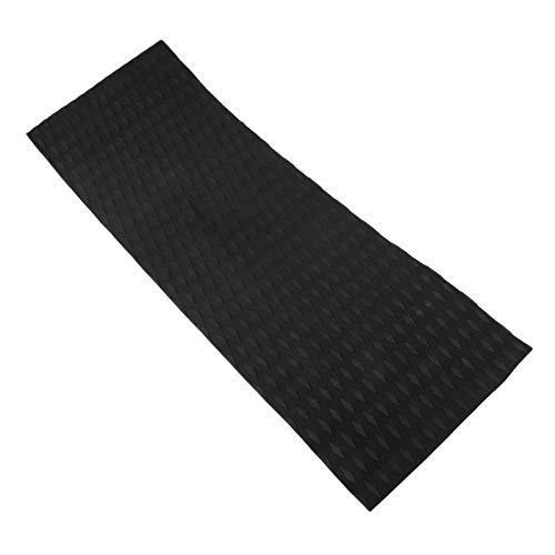 MUXSAM 1 Pc Surfboard Deck Pad Eva Anti-Rutsch 310x900mm / 12,20 x 35,43 Zoll Schwarz
