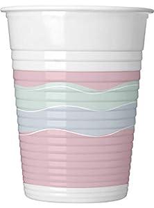 Procos vaso de plástico 200ML Elegant Party, Multicolor, 5pr89261