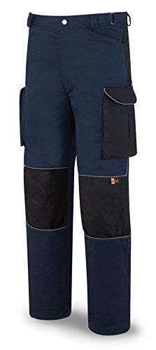 Marca SERIE-PRO - Pantalon tergal talla 46-48 azul