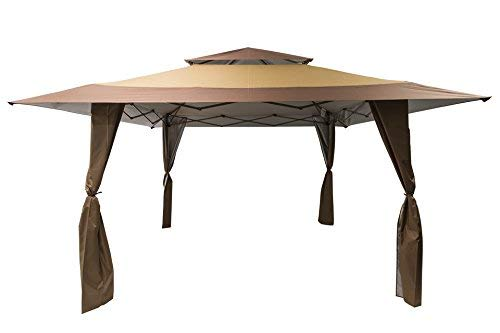 Got it Covered Huge 4m x 4m Stunning Gazebo Waterproof Canoy With Carry Case On Wheels 1