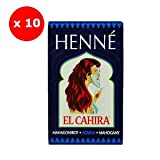 Henna Mahagoni Rot 10-er Pack