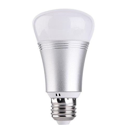 cutogain WiFi Smart LED Leuchtmittel E27/E14/B22Fernbedienung RGBW-Lampe für Amazon Alexa Google Home (Control-bild-licht Remote)