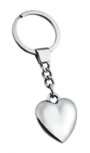 Ten portachiavi cuore amore - cod. el7780 - lun.9,5 cm - lar.3,5 cm - alt.1 cm by varotto & co.