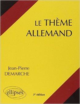 Le thème allemand systématique de Jean-Pierre Demarche ( 5 mai 1998 )