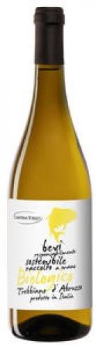 Trebbiano D'Abruzzo Dop Bio 75 Cl - Vino Bianco Fermo