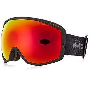 Atomic Unisex All Mountain-Skibrille Count Stereo, Medium Fit, Sphärische Doppelscheibe, Kompatibel mit Brille