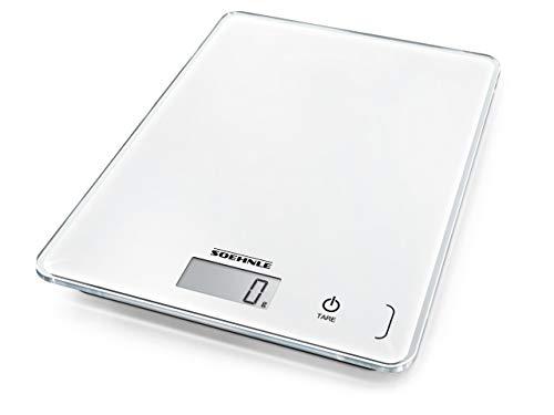 Soehnle Compact 300. Tipo: Báscula electrónica de cocina, Capacidad máxima de peso: 5 kg, Precisión: 1 g. Tipo de visualizador: LCD Exhibición -Tipo de visualizador: LCD  Características -Tipo: Báscula electrónica de cocina -Capacidad máxima de peso:...